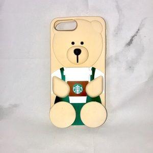 NEW Starbucks bear coffee iPhone case